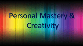 Personal Mastery and Creativity banner