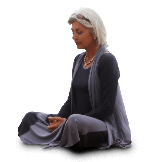 Chantaul Jordan meditating