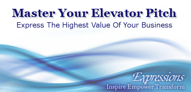 Master Your Elevator Pitch