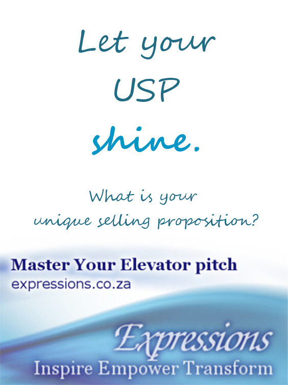 Let your Unique Selling Proposition shine.