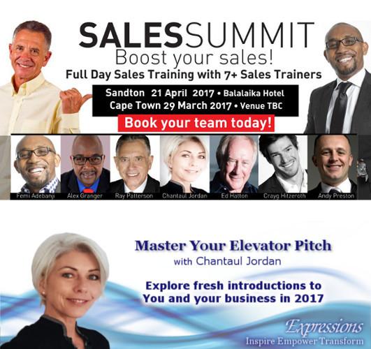 Chantaul Jordan at Sales Summit 2017